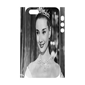 iphone5s Phone Case White Audrey Hepburn ZCC572570
