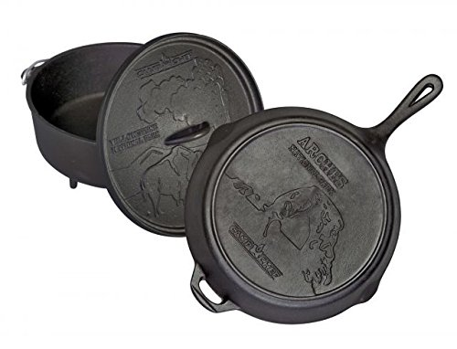 CAMP CHEF National Parks Cast Iron - Set Pot Chef Camp