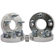 "D&D (Drag & Drift) 4pcs 1"" Wheel Spacer Adapter 12 X 1.5/4x114.3 Convert to 5x114.3 4-lug to 5 Lug Conversion Fits Accord EVO"