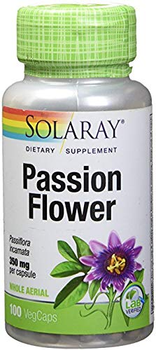 Solaray, (3 Pack) Passion Flower, 350 mg, 100 VegCaps