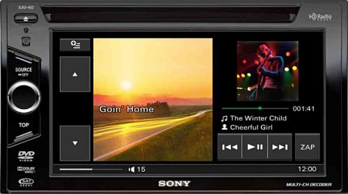amazon com sony xav 60 6 1 inch in dash touchscreen dvd cd mp3 rh amazon com