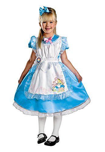 Morris Costumes Alice Deluxe Child 4-6 (Couples Caveman Costumes)