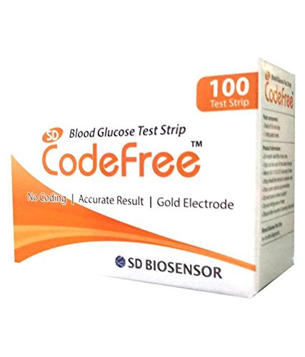 SD Codefree Blood Glucose Test Strips