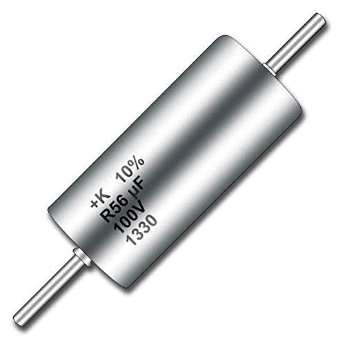 Tantalum Capacitors - Solid Leaded 100volts 1uF 20% , Pack of 10 (T110B105M100AS)