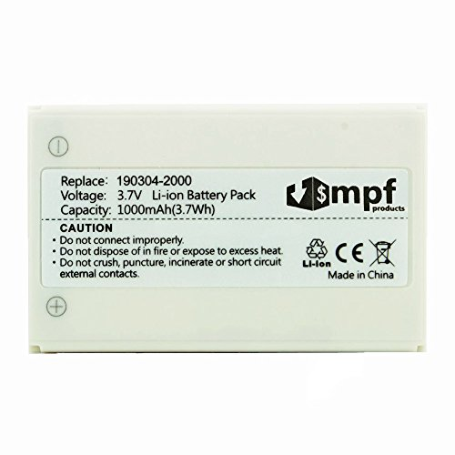 High Capacity Extended 1000mAh R-IG7 Battery for Logitech Harmony 720, 850, 880, 885, 890 Pro, H880 & Harmony One Advanced Remotes 190304-2000 NTA2340