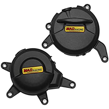 MADRACING for RC390 2017 Motorbike Engine Cover Set Protection Guard//Slider