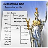 Greek Gods Family Tree PowerPoint Template - Greek Gods Family Tree PowerPoint (PPT) Slides Templates