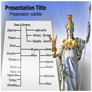 amazon com greek gods family tree powerpoint template greek gods