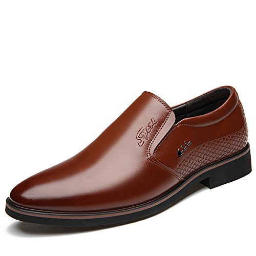 De Cena Boda De Marrón Los De Respirables Vestir De Cuero Zapatos De La Real Negocios Hombres De Zapatos Cómodos Zapatos Zapatos atwnx1fHqf
