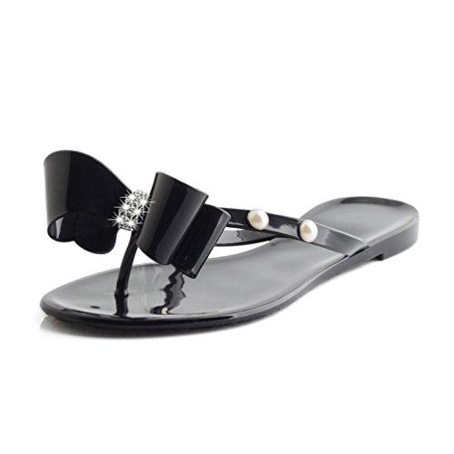 Jelly Flip Flop Sandals - 2
