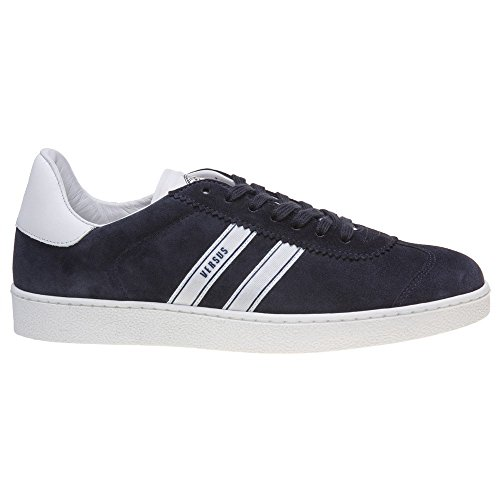 Kontra Tillfälliga Mens Sneakers Blå Blå