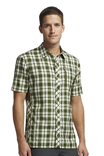 Icebreaker Men's Short Sleeve Short Sleeve Shirt, Medium, Cedar Icebreaker B00L8LPVZE