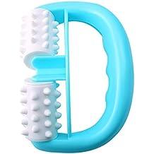 Handheld Full Body Anti Cellulite Massage Roller,Mini Wheel Ball Massager Fit for Foot Hand Body Neck Head Leg Pain Relief