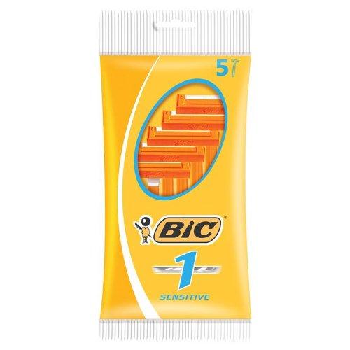 Bic Men Classic Sensitive Disposable Razors 5-Pack