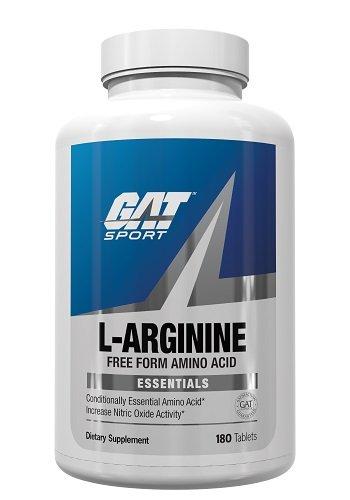 GAT Sport L-Arginine Tablets, 180 Count (180 Tabs Fuel)