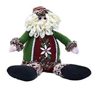 Santa Claus dolls Christmas gifts window decorations Christmas decorations toys -50CM