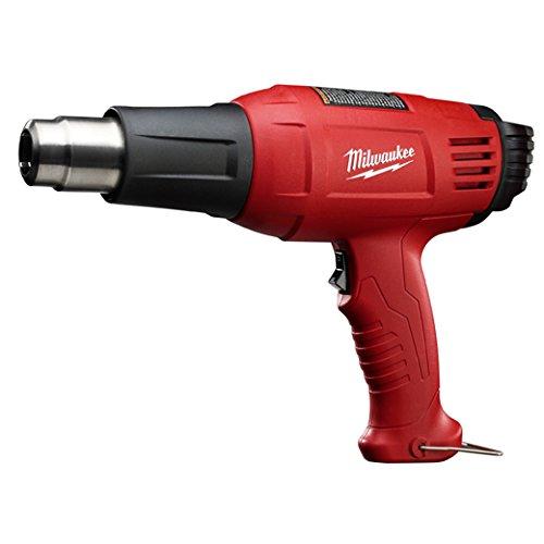 Heat Gun, 100 to 1040F, 11.6A, 20 cfm (Milwaukee Variable Temperature Heat Gun)