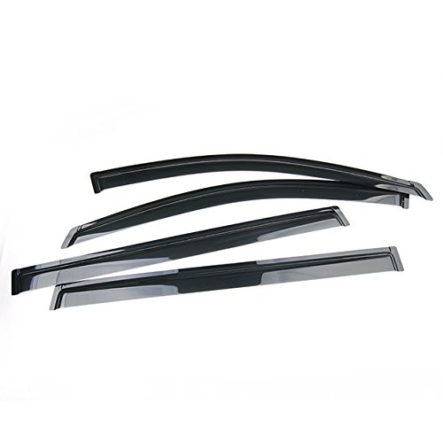 Set of 4Pcs Smoke Window Sun Rain Visor Vent Guard Deflector Shade For 06 07 08 09 10 Dodge Charger 99/_OnLine