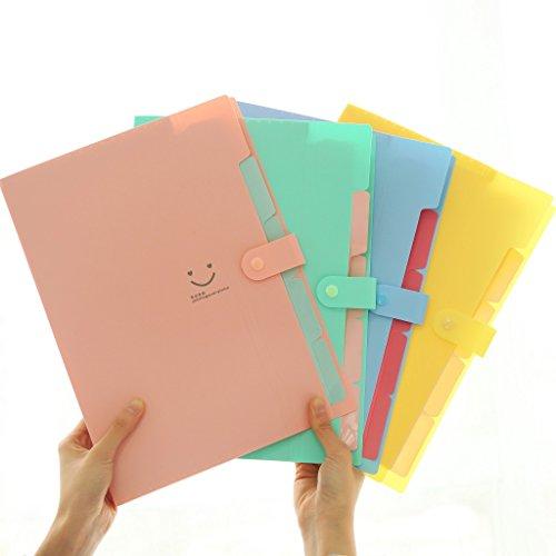 Vevice Letter A4 Paper Expanding File Folder Pockets