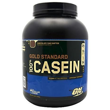 Optimum Nutrition Gold Standard 100% Casein Chocolate Cake Batter 4lb