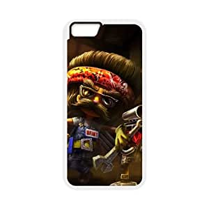 Heimerdinger iPhone 6 Plus 5.5 Inch Cell Phone Case White 11A095371