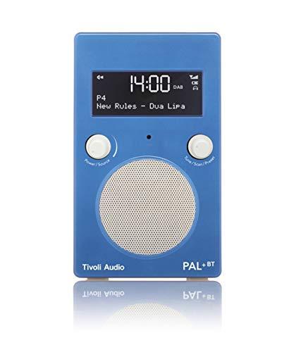 Tivoli ppbtgblu Radio portátil, Blanco/Azul (Importado ...