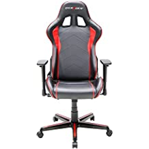 Dxracer Formula Series DOH/FH08/NR Newedge EditionRacing Bucket Seat Office Chair Gaming Chair Ergonomic Computer Chair (Black/Red) with Pillows