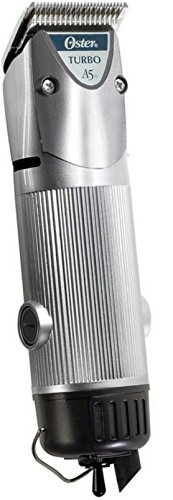 oster-a5-turbo-2-speed-professional-animal-clipper-silver