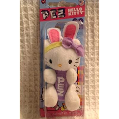 Hello Kitty Easter Bunny Pez Dispenser: Toys & Games [5Bkhe2004850]