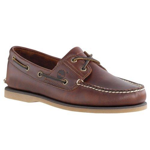 Timberland Men's, Icon Classic 2 Eye Boat Shoe Rootbeer 11.5 (Timberland Classic 3 Eye)
