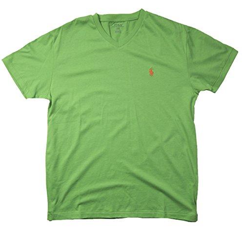 Ralph Lauren Herren T-Shirt rot rot Gr. S, Green V Neck