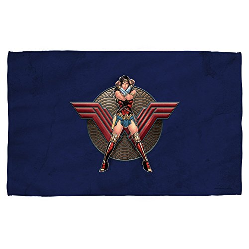 Wonder Woman Movie -- Warrior Emblem -- Beach Towel - (36'' x 58'') by Wonder Woman Movie