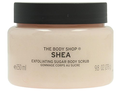 The Body Shop Shea Body Scrub Exfoliator - 250ml