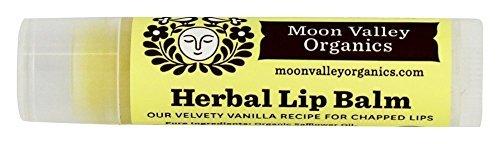Moon Valley Organics - Herbal Lip Balm Vanilla - 0.15 Oz. (3-pack)
