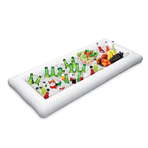 Pool Float Inflatable Mattress Beer Table Summer Water Party