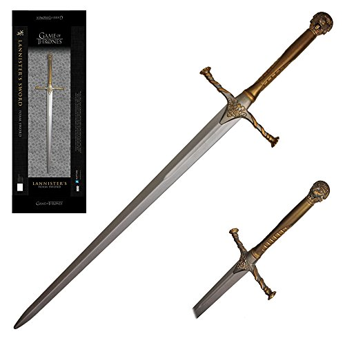 Officially Licensed replica Foam Weapons from HBO 's hit TV series Game of Thrones (Jaime Lannister's Sword)
