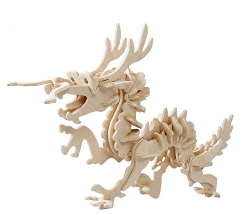 Dragon 3 D Puzzle - 7