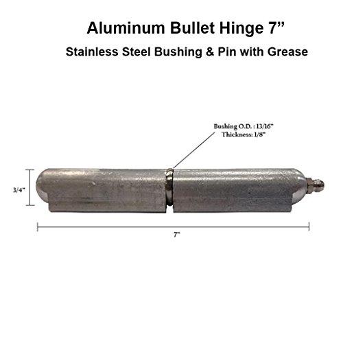 Satin Nickel 10 Pack Hinge Pin Door Stop with Nylon Bushing