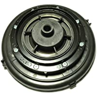 Rainbow Lower Motor Housing Assembly, Fits: D4-D4C & SE Models, complete housing with lower motor housing, bearing, bearing sleeve, baffle plate, spider and flange plate