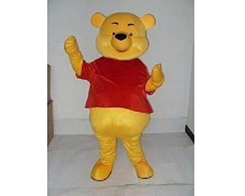 Pooh Bear Woman Costume (Winnie The Pooh Bear Adulte Mascotte Costume)