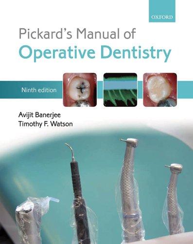 Download Pickard's Manual of Operative Dentistry Pdf