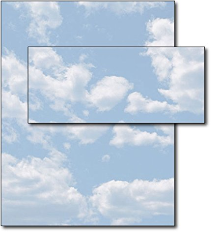 Clouds Letterhead & Envelopes - 40 Sets