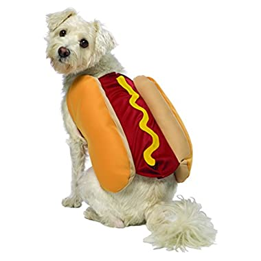 Rasta Imposta Hot Dog Costume, Medium