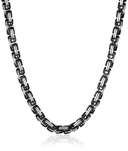 Cold Steel Stainless Immersion Necklace