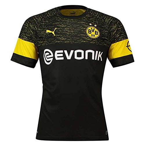 PUMA 2018-2019 Borussia Dortmund Away Football Shirt