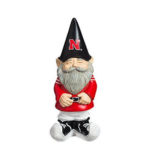 Team Sports America University of Nebraska Garden Gnome
