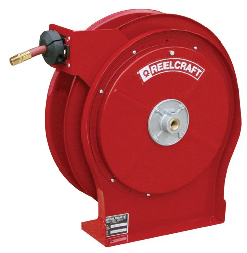 0 5  X 25  300 Psi  Premium Duty Air   Water Reel With Hose