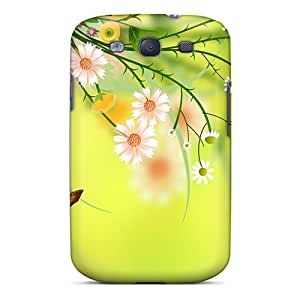 New Fashion Premium Tpu Case Cover For Galaxy S3 - On Wings Of Summer