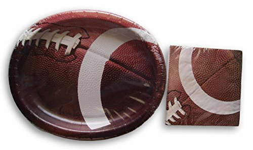 Football Theme Party Supply Kit - Napkins and ()
