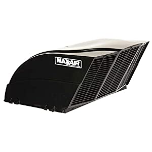 MAXXAIR 00-955002 Black Fanmate Cover with Ez Clip Hardware